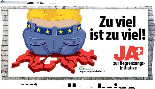 Fragen zu einer Abstimmungskampagne in derSchweiz